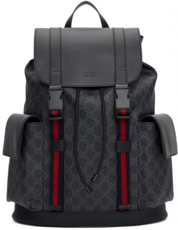 Black Backpack Mens