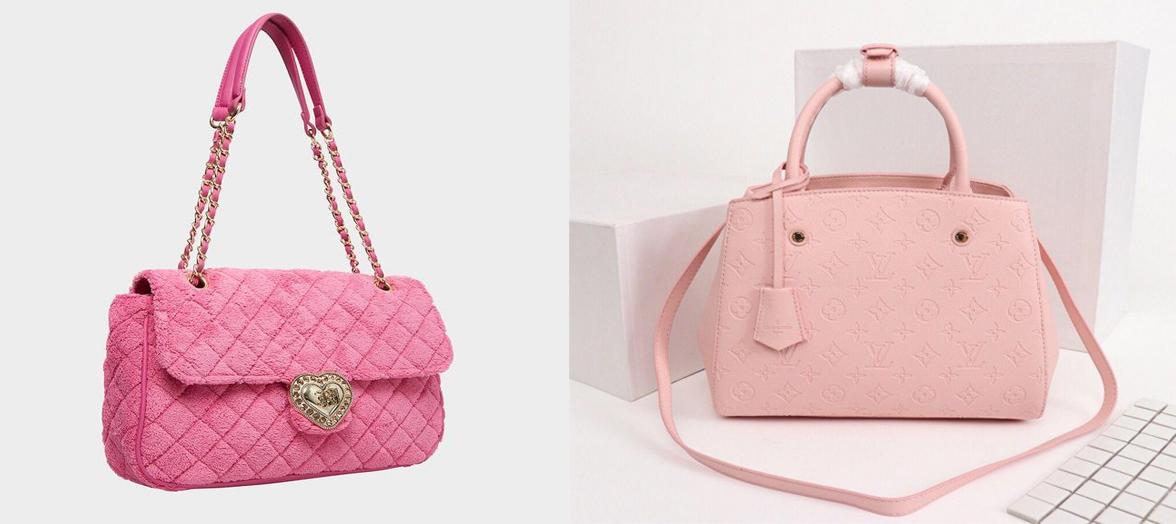 Pink Handbags